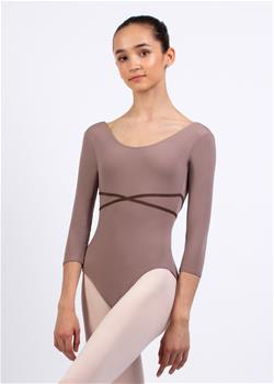CARISSA, Leotard with long sleeve