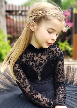 LITTLE CLAUDIA, Leotard, Youth size